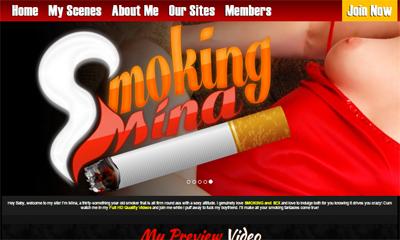 Smoking Mina