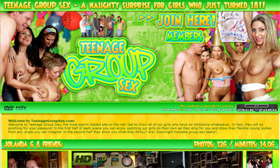 Teenage Group Sex