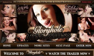 Gloryhole Admissions